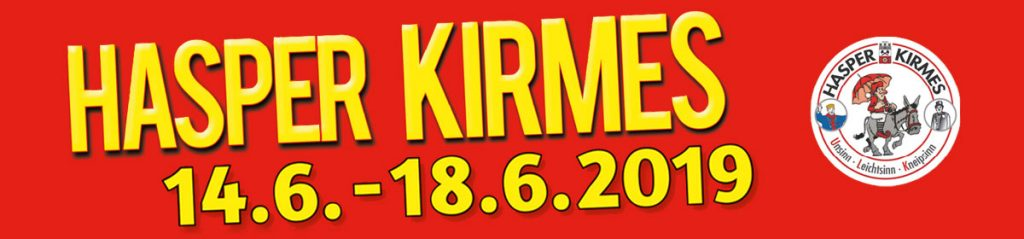 Hasper Kirmes - 14. bis 18. Juni 2019
