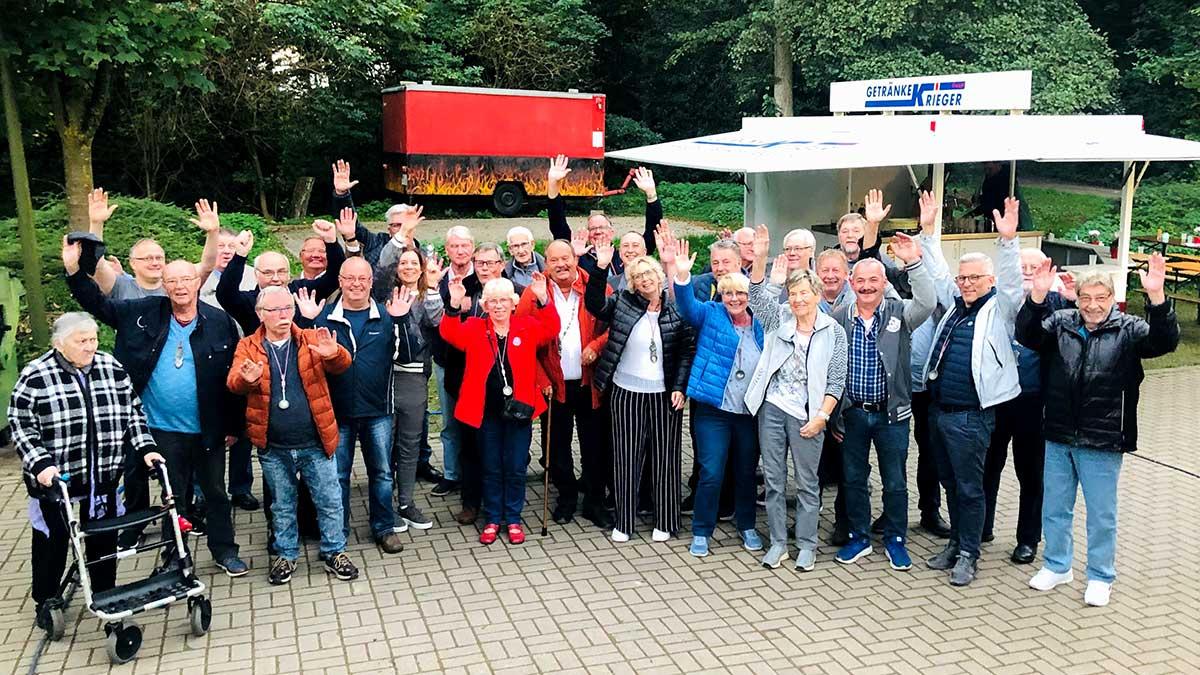 Gruppenfoto vom Löffelträgertreffen 2021